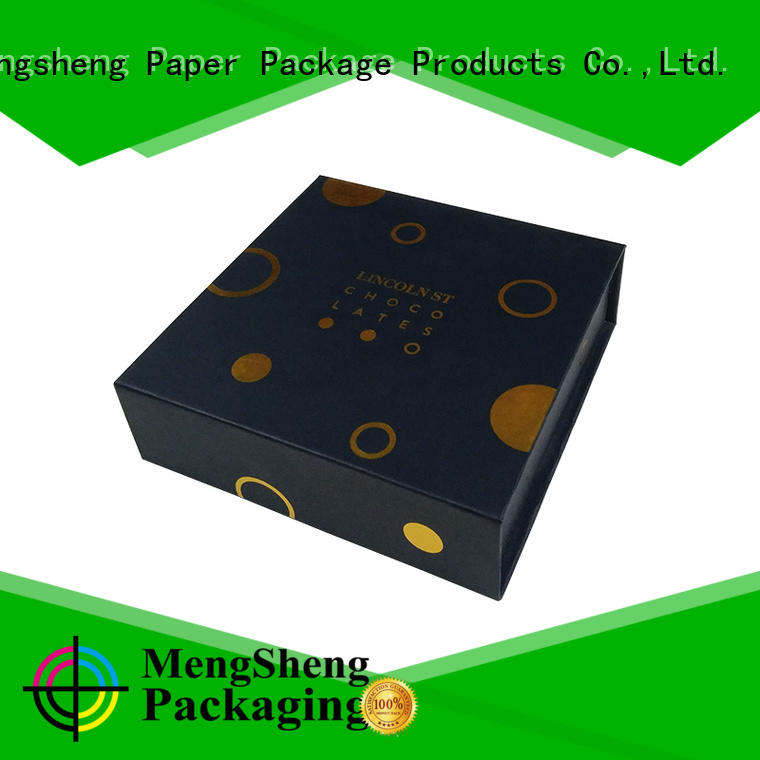 Mengsheng at discount white magnetic box corrugated for christmas gift