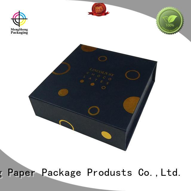Hot magnet gift box gift Mengsheng Brand