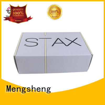 shipping boxes for sale boxes garment printed Mengsheng Brand small shipping boxes
