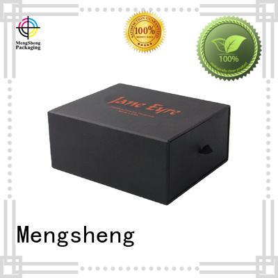 Mengsheng wholesale slide open boxes small base free sample