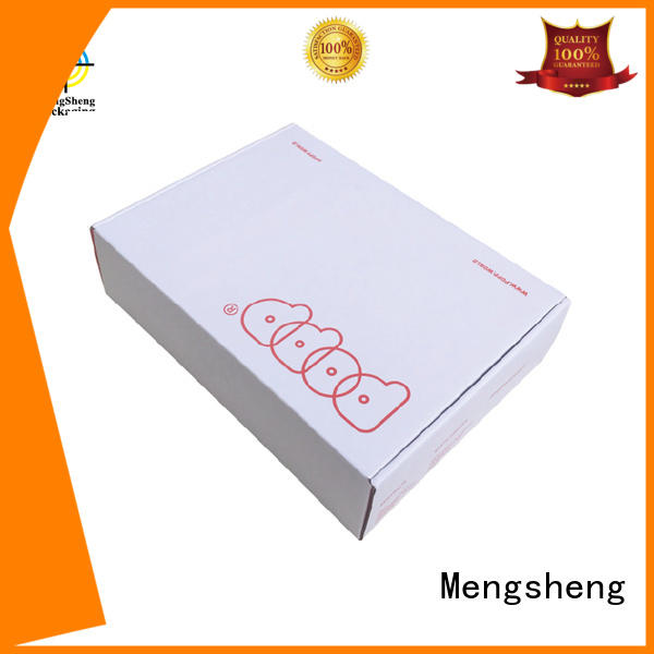 apparel gift boxes clothing box with handle Mengsheng