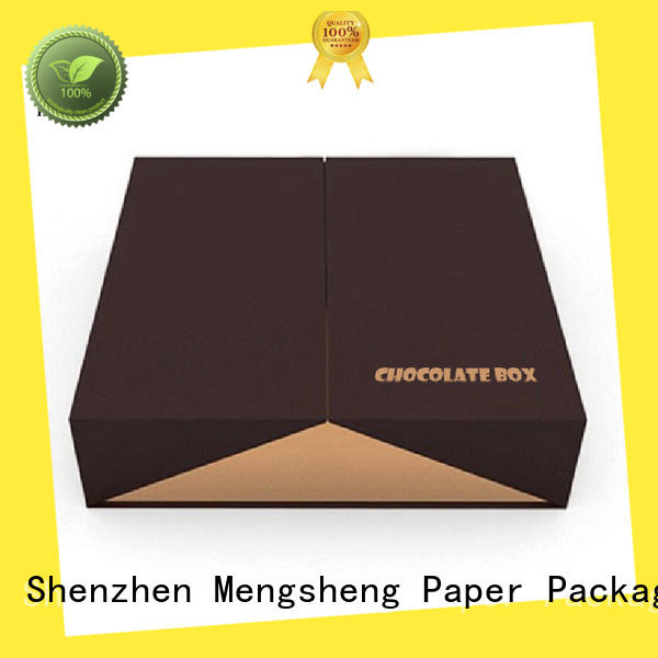 Mengsheng matte candy gift box natural kraft paper for packing