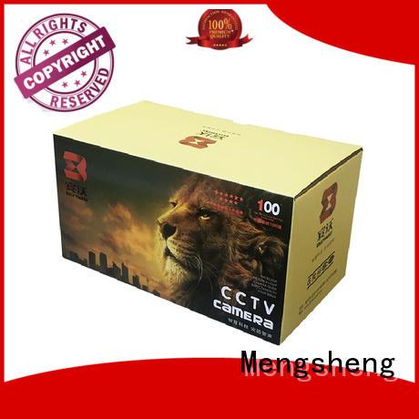 electronics shipping box packaging printing cell phone box cctv Mengsheng Brand