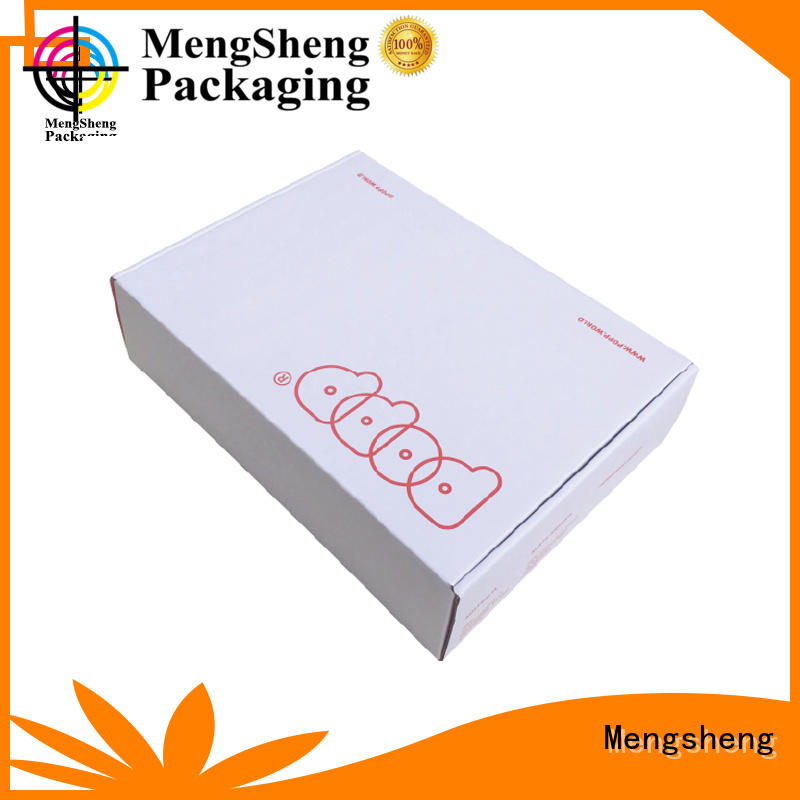 corrugated paper cloth box corrugated cardboard with handle