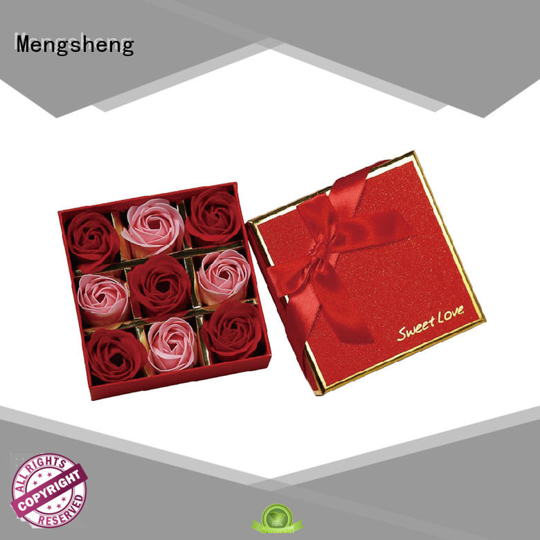 Mengsheng wholesale flower box at discount for shipping