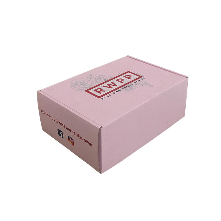 custom boxes pink colour Mengsheng-2