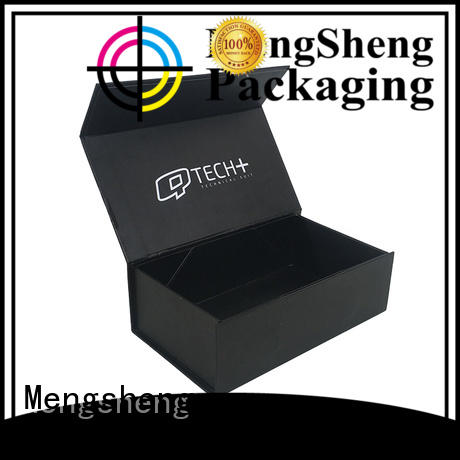 cosmetic packaging cardboard box at discount with handle Mengsheng