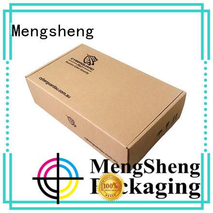 Mengsheng pvc window wedding storage box ectronics packing