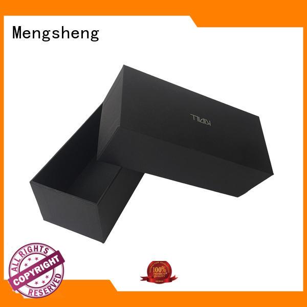 Mengsheng cosmetic packaging cardboard box printing design