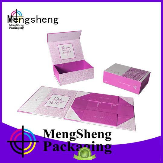luxury fold over box shipping clothing swimwear packing