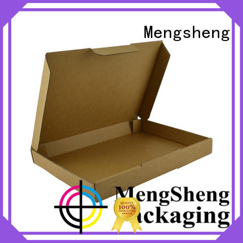 Mengsheng high quality corrugated box maker convenient