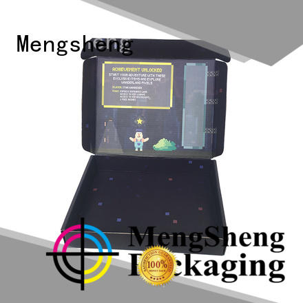 High quality customized shipping boxes custom logo black mailer box