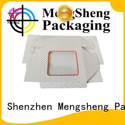Mengsheng imprinted cupcake packaging customized top brand