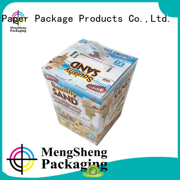 Mengsheng wholesale kids toy box on-sale with ribbon