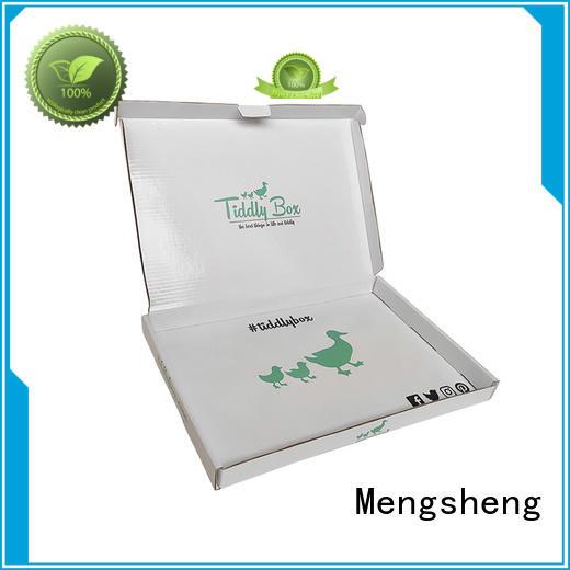 Mengsheng cosmetic packaging bikini box free sample ectronics packing