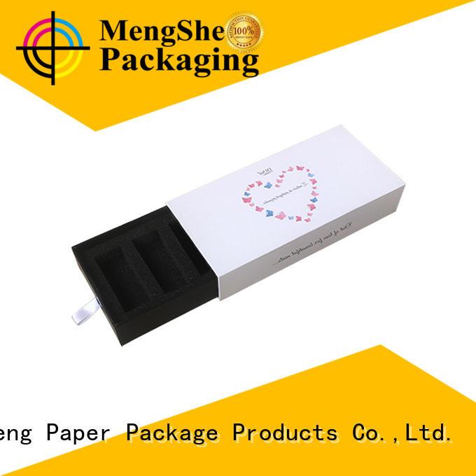 Mengsheng custom color drawer box packaging on-sale latest deisgn