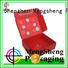 Mengsheng printing design packing boxes oliver oil displaying with ribbon