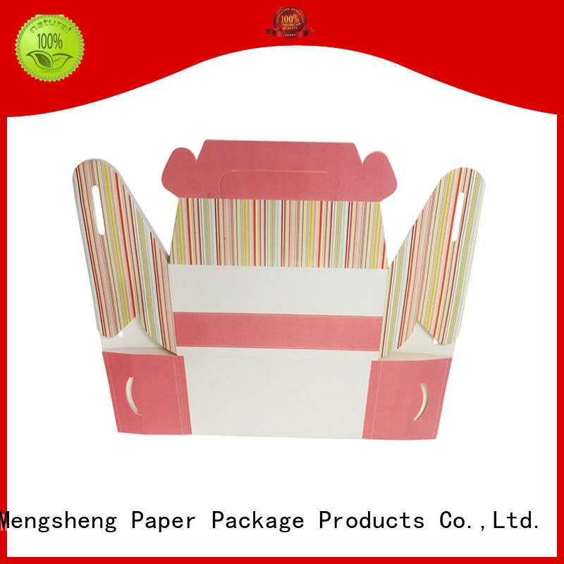 Mengsheng printing design where can i find small gift boxes manufacturers with handle