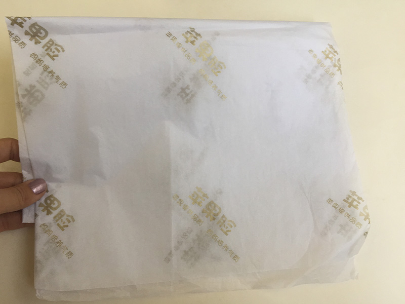 Mengsheng custom color brown tissue paper with ribbon latest deisgn-2