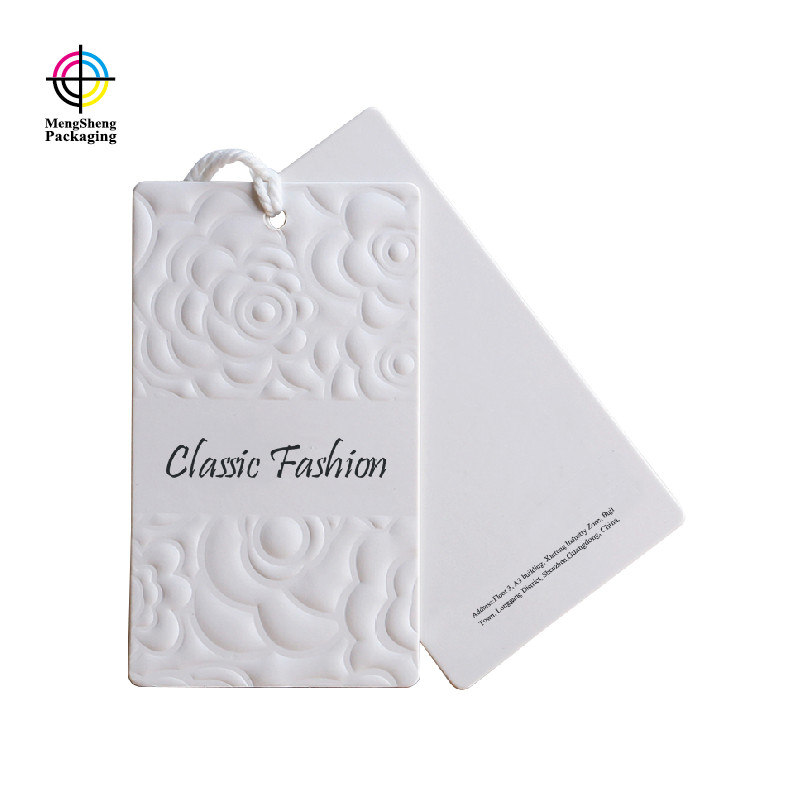 Mengsheng handmade paper hang tags luxury jewelry packing-2
