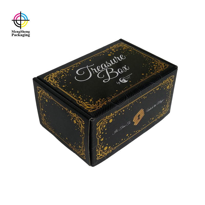 strong custom gift boxes with logo corrugated eco friendly Mengsheng