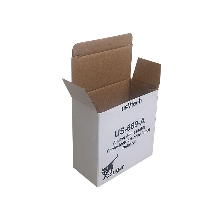 Electronics packaging box Analog Addressable photoelectric smoke/heat detector  cougar usVtech