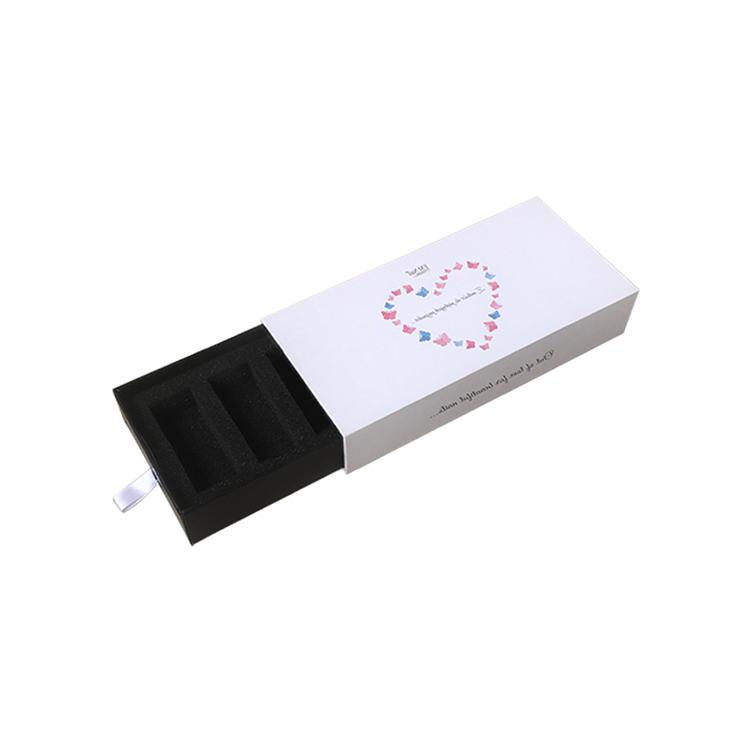 Custom Drawer Gift Slider Box Packaging With Foam Insert