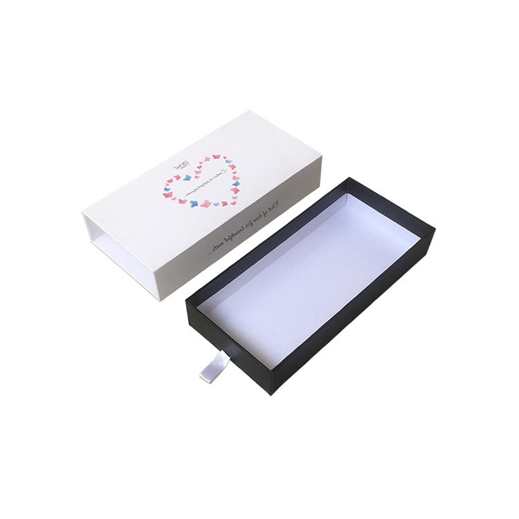 Custom Drawer Gift Slider Box Packaging With Foam Insert