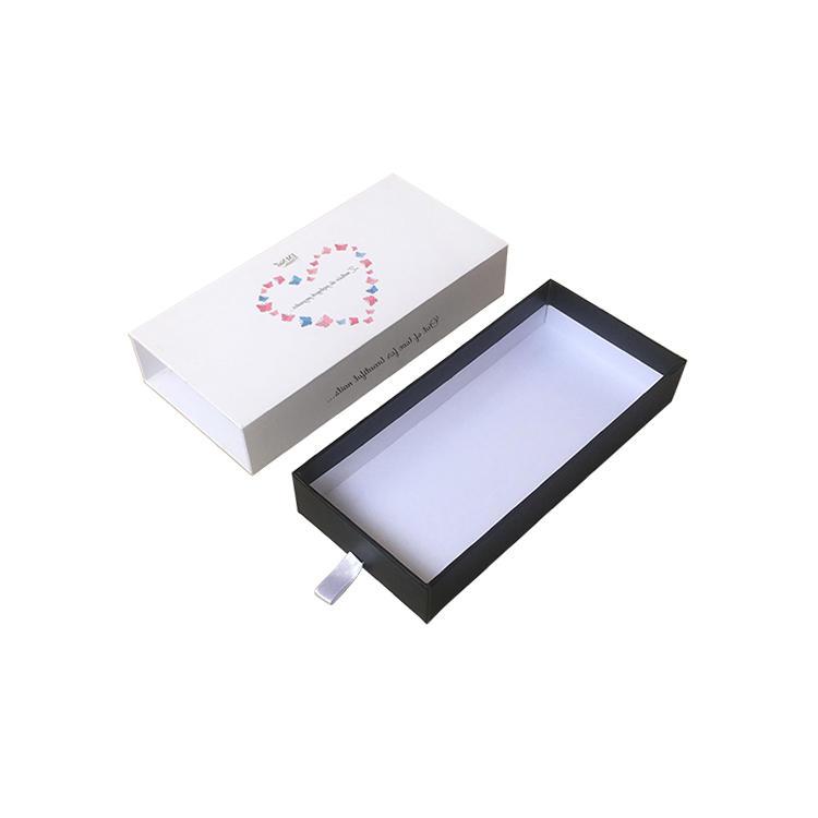 Custom drawer gift box packaging with foam insert