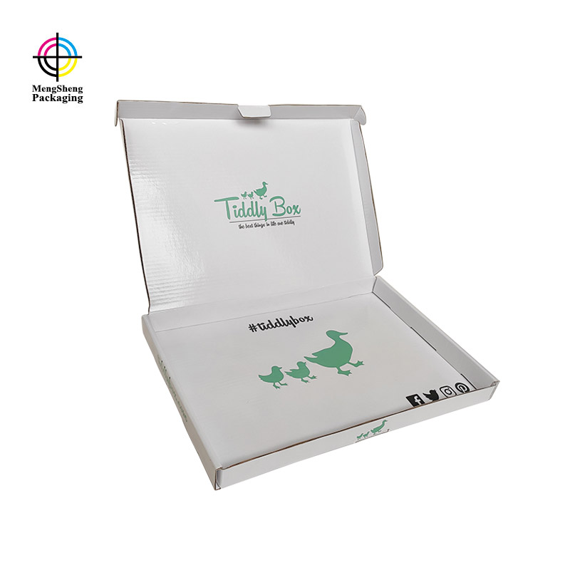 Mengsheng customized shirt gift boxes free sample with handle-1