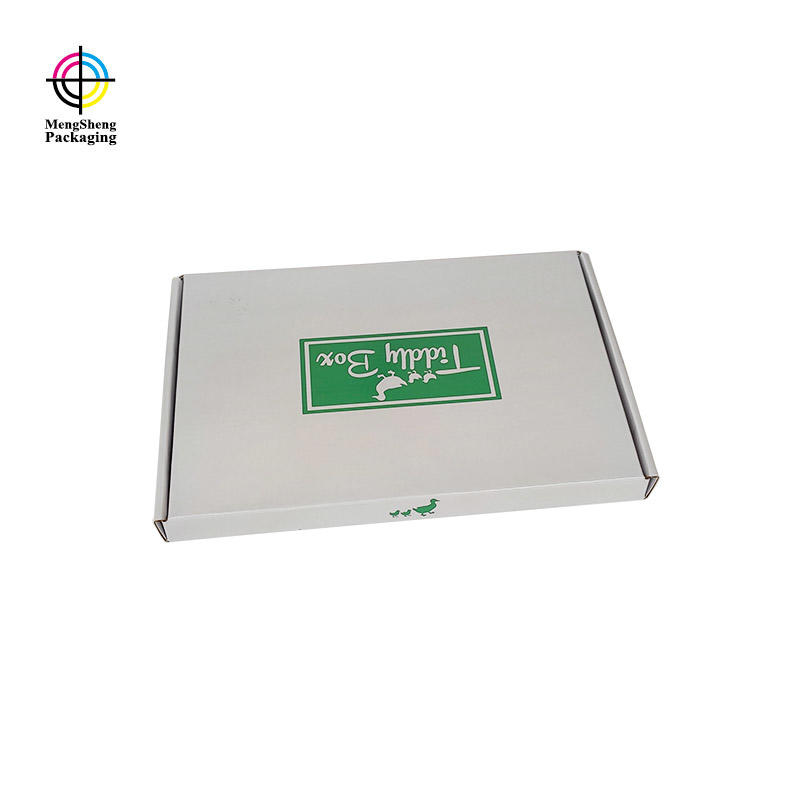 Mengsheng customized shirt gift boxes free sample with handle