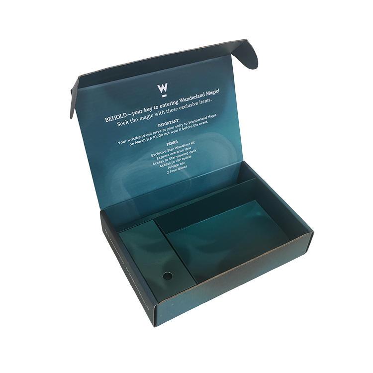 durable cardboard paper box printed easy closure for florist