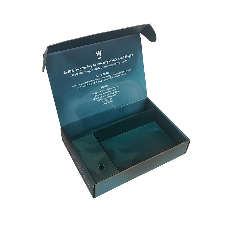 Electronics Packaging Custom Boxes Gift Packaging For Music Arts Festival