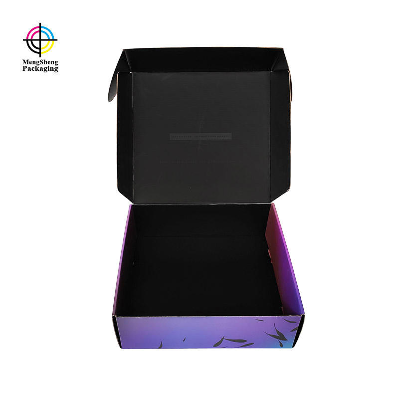 Custom Shipping Box Spot UV Double Sides Printed Corrugated Box Supplier