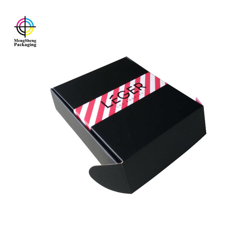 Custom corrugated cardboard shipping mailing box with logo
