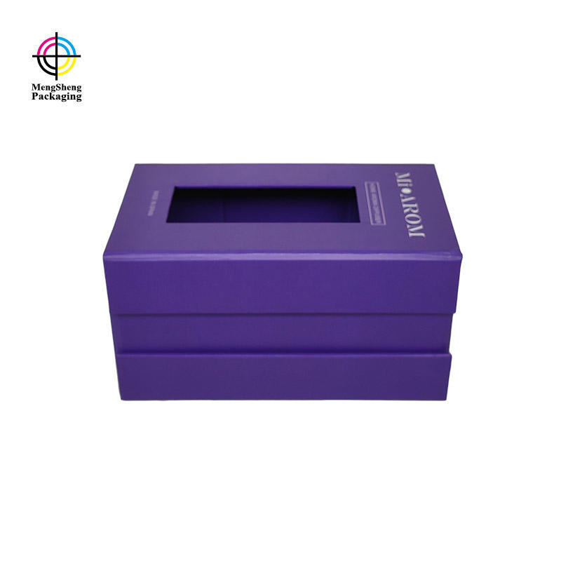Gift Packing Your Logo Printed Rigid Cardboard Foldable Magnetic Stash Box