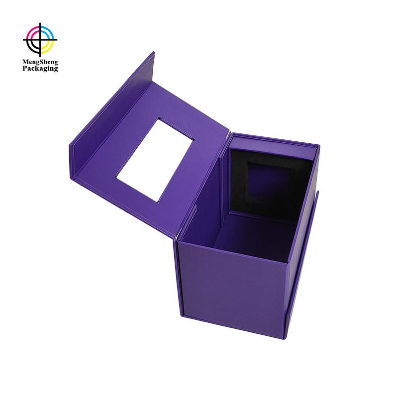 Mengsheng removable magnetic closure gift box carton printed clothing shipping-2