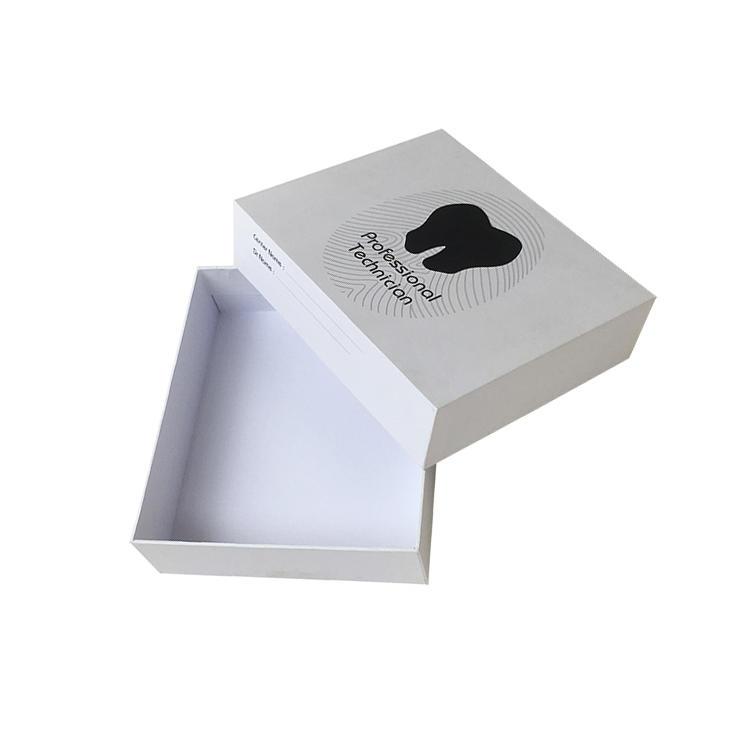 handmade 2 piece gift boxes ecofriendly rectangular chocolate packing