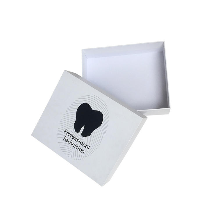 Custom lid and base box rigid paper gift box with printing logo