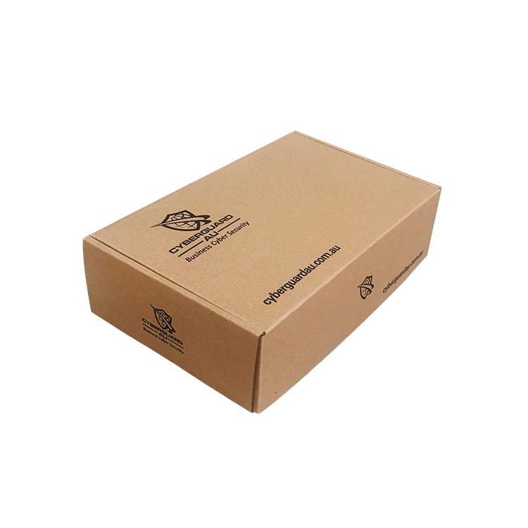 clothing box kraft colour thick material customized printing