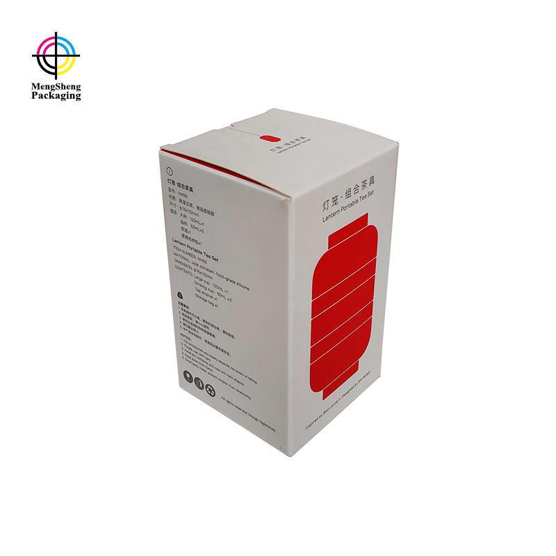 Wholesale printing custom spot UV card paper shipping box with window