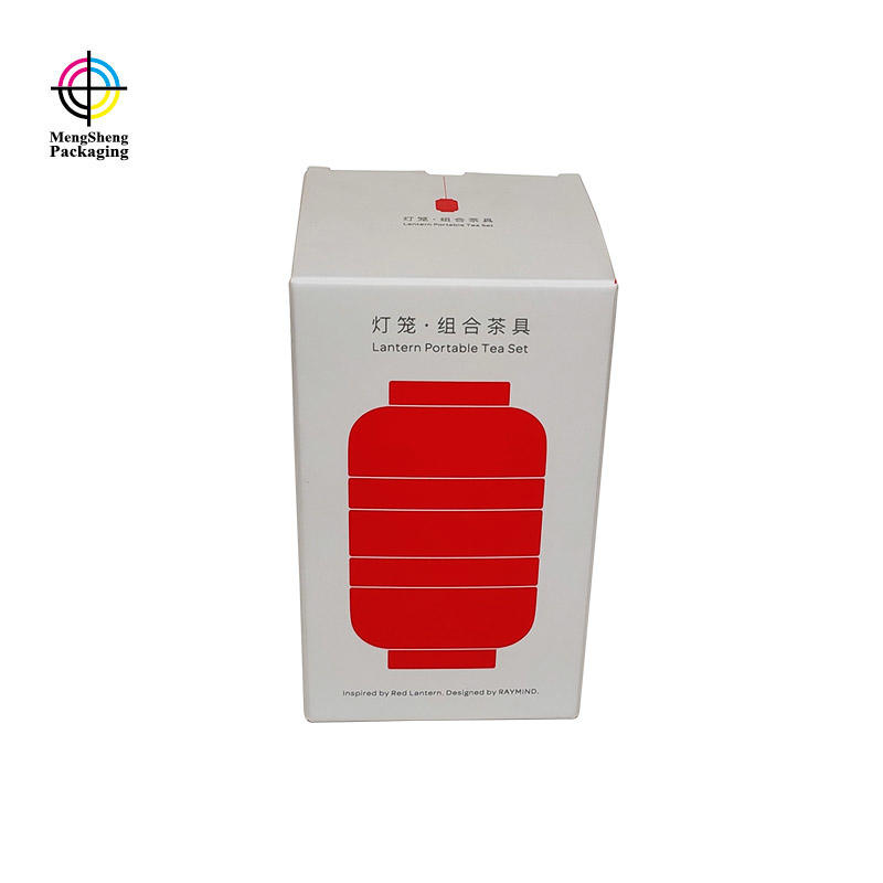 Wholesale printing custom spot UV card paper shipping box with window