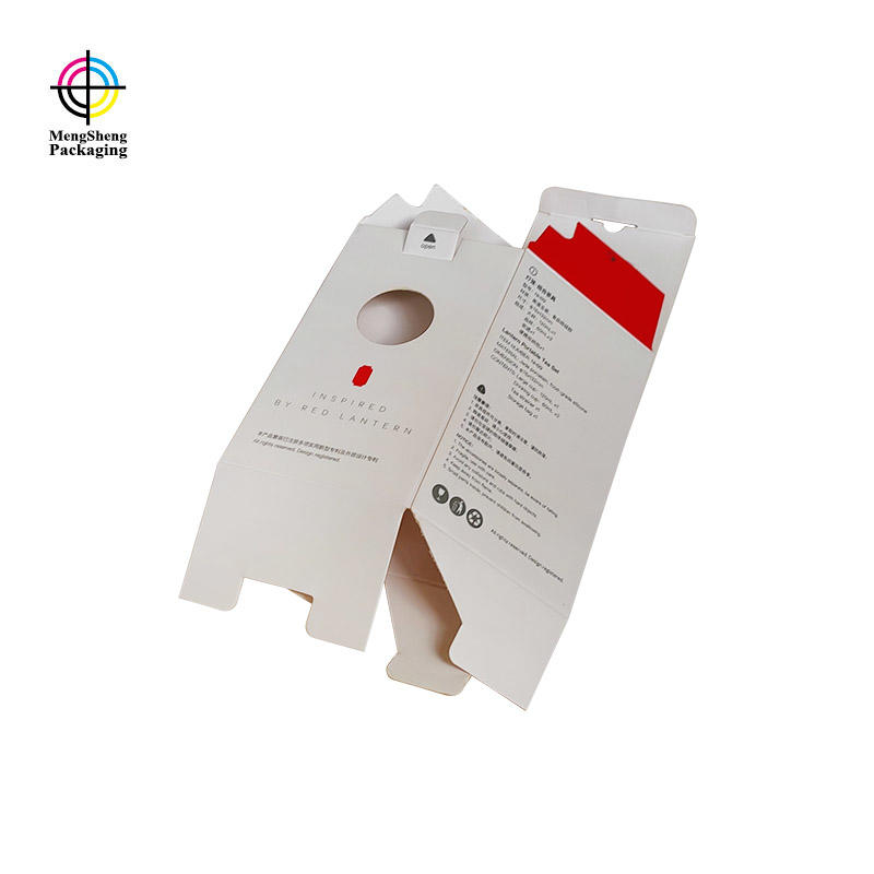 natural kraft paper luxury brand packaging stamping double sides convenient