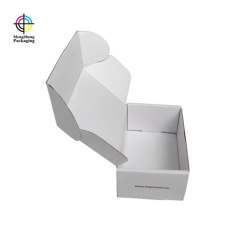 Mengsheng box empty cardboard box logo printed garment packing-1