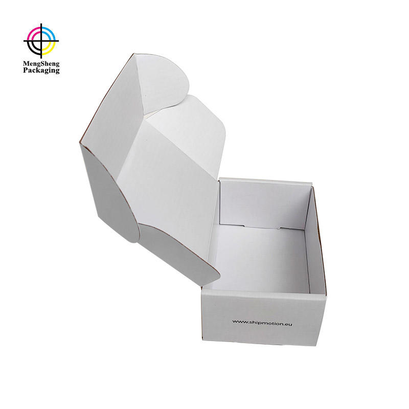Mengsheng durable large cardboard boxes for moving shipping clothing swimwear packing