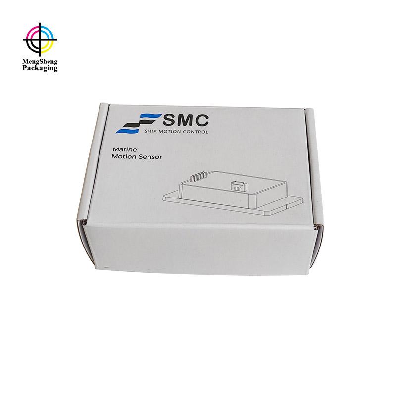 Mengsheng box empty cardboard box logo printed garment packing-2