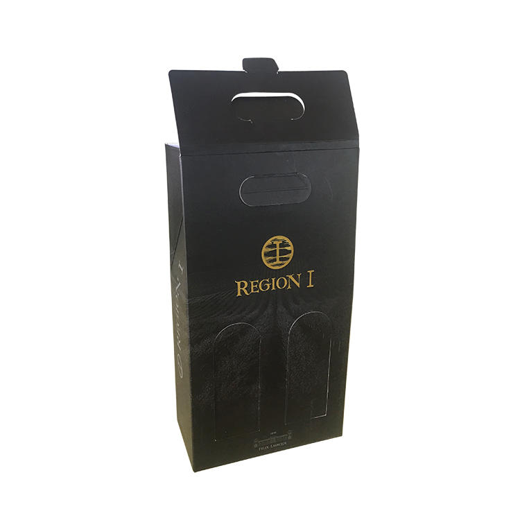 Mengsheng wine bottles branding package double sides eco friendly
