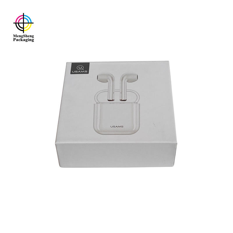 Custom Logo Printed Headphones Electronics Packaging Cardboard Boxes With Lids