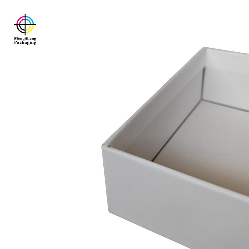 cosmetics packaging lidded cardboard boxes sturdy luxury jewelry packing