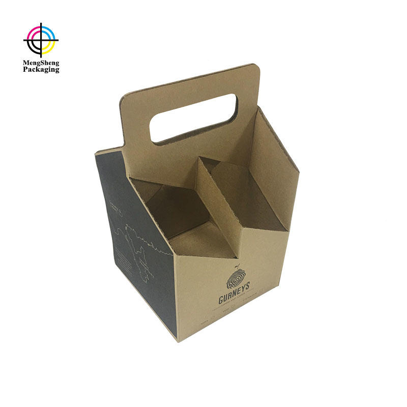 Create custom wine paper box packaging for wine bottle